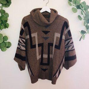 Vintage looking Ralph Lauren Boho Tribal Sweater